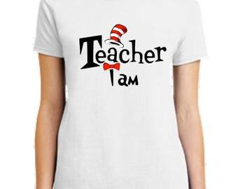 Dr Seuss t shirt, Teacher of all Things Shirt, custom Dr Seuss shirts, Dr Seuss personalized t shirt