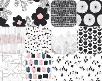 LAGOM - by AGF Studio - Art Gallery Fabrics- Fat Quarter Bundle - 10 Prints - Fond Palette