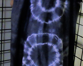 Beautiful maxi cotton knit  Dress, Plus, Hand dyed, One Size