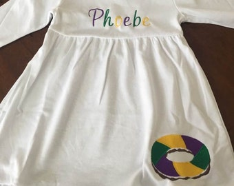 Girls Mardi Gras Dress