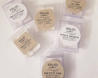 Wax melts - 6 pieces in 1 container