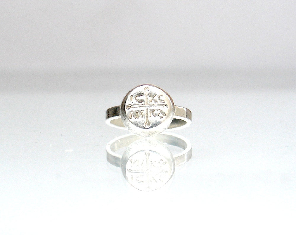 Jesus ring christian symbol ring powerfull ring christian zoom biocorpaavc Image collections