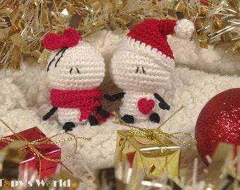 Bigli Migli (tiny) - crochet pattern, amigurumi pattern