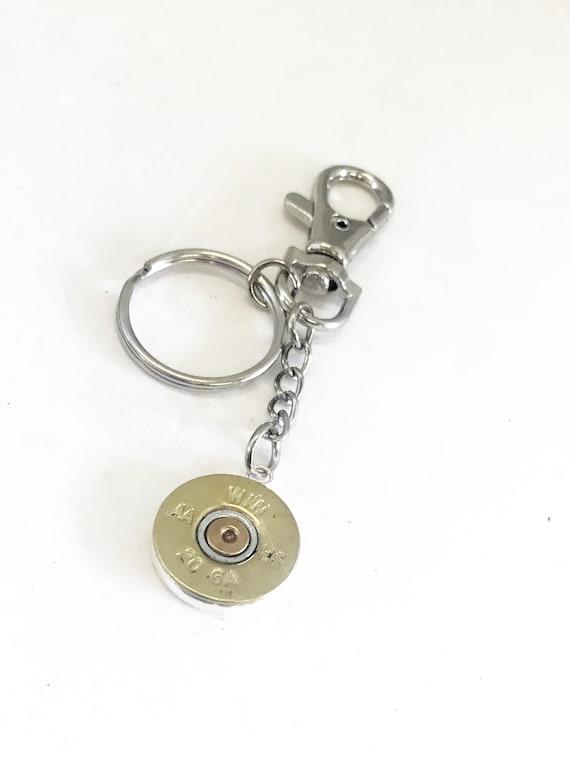 Shotgun Shell Keychain Charm, Shogtun Shell Gifts, Shotgun Shell Key Ring, Keychain Clip, Shooting Sports Keychain Gift, Purse Clip Charm