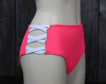 High Waisted Bikini, Bikini Bottom, Sexy Bikini, Women Bottoms, Bathing Suit Bottoms, Swimsuit, Swim Wear, Swimwear for Women, Resort Wear
