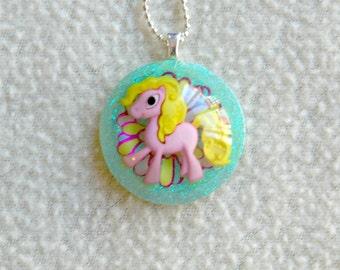 Pink Flower Pony