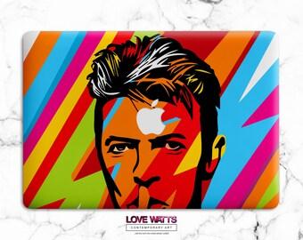 David Bowie Tribute Case Macbook Air 13 Case Laptop Cover Macbook Pro 15 Clear Case Macbook Pro Cover Apple New Mac Case Macbook A1708 WL121