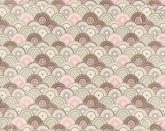 "Bo Bunny Primrose ""Primrose Place"" Paper - BoBunny Primrose Place Paper - Pink And Brown Cardstock - Bo Bunny Cardstock - Primrose - 4-085"