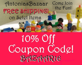 Shop Coupon Code 10% Off: BAZAAR16 For AntoniasBazaar & Free Shipping for Select Items, DO NOT Purchase This Listing! See Description