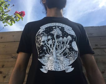 Mens/Womens Psychedelic Vegan Shirt