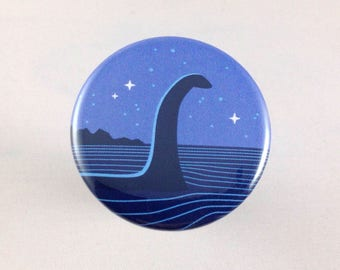 Nessie (Loch Ness Monster) button