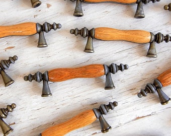 Brass Wood Drawer Pulls   Handles   Knobs   Brass Hardware   Brass Hardware   Wood Metal Pulls