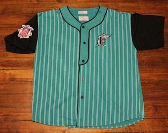 Florida Marlins Jersey vtg MLB Baseball vintage stitched starter jersey XL Tl4h6