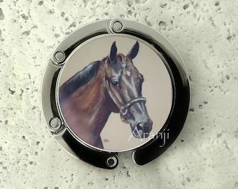 Horse purse hanger, tabletop purse hanger, purse hanger, purse hook, horse purse hook, horse purse hanger, AN232J