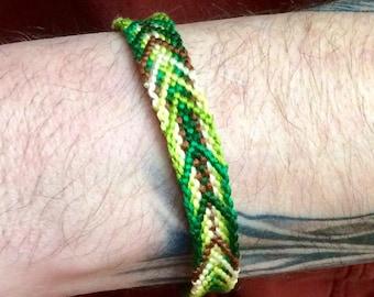 Grassy-Trails Handwoven Bracelet/Anklet