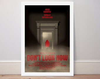 Movie poster 'Don't Look Now' colour print