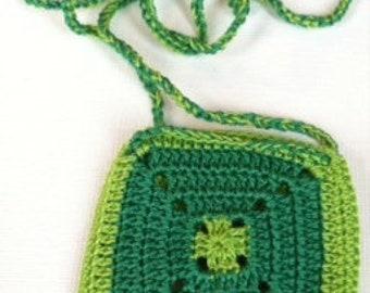 Granny squares pouch