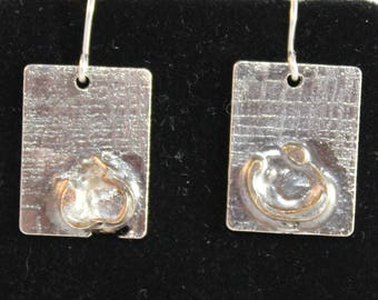 Unique Sterling Silver Earrings (100917-030)