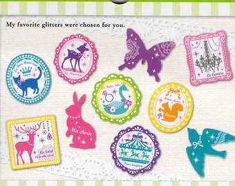 Mind Wave Kawaii GIRLY stickers flake 70pcs