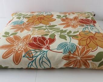 Zabuton Meditation Cushion - Lotus Flower