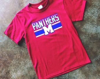 Red Midway Pathers Tee