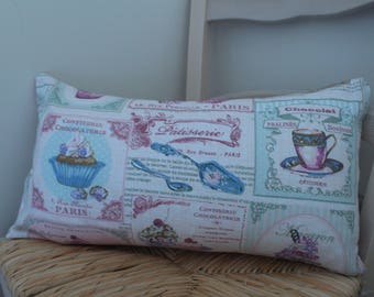 Duffel cupcakes fabric Cushion cover