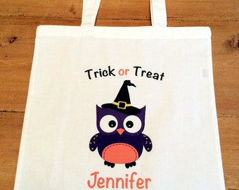 1 Owl Witch Tote Bag