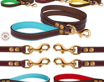 Dog Leash, Leather Dog Leash, Leather Dog Lead, Custom Dog Leash, Pet Leash Handmade Strong