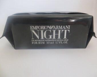 NIGHT By Giorgio Armani Eau De Toilette for Men 50ml rare discontinued