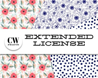 Extended License - 250-1000 items