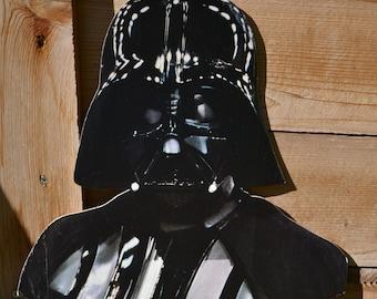 Vintage Cardboard Star Wars Darth Vader Bust