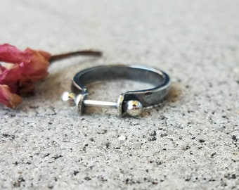 Barbell ring