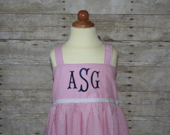 """Add """"Fishtail"""" Three Letter Monogram Initials to your item"""