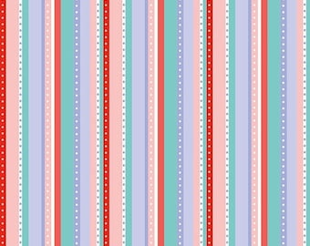 25% OFF CLEARANCE SALE Multi Stripes From Riley Blake's Princess Dream Collection