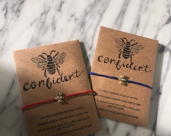 Bee Magical Wish Bracelets (Bee Confident)