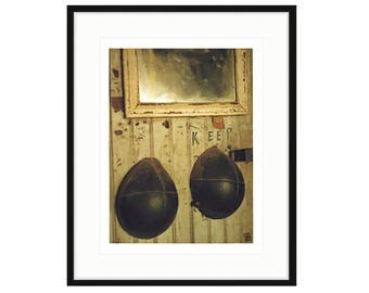 "Shipyard Archeology, ""KEEP"" framed print, two sizes and two frame options available. FREE SHIPPING, ready to hang"