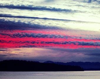 PHOTOGRAPH SUNSET SKY