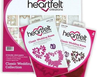 Heartfelt Creations Classic Wedding Creative Essentials HCCE1-625