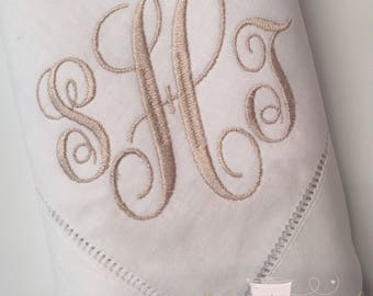 Dinner Napkins, Monogrammed Dinner Napkins, Napkins, Personalized Napkins, Wedding Gift, Embroidered Napkins