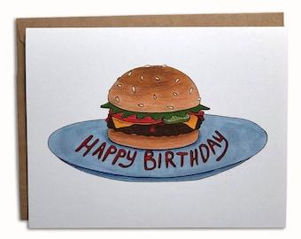 Happy Birthday Cheeseburger