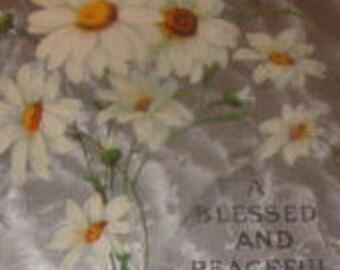 Nice Easter/Floral Postcard (Dasies)