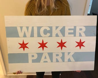 Chicago Neighborhood Flag