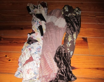Bundle Of Three Vintage Hippie Boho Skirts 1980'S