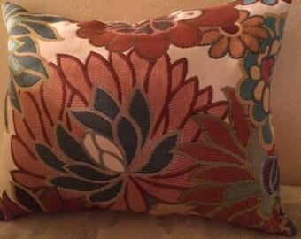 Aqua Throw Pillow (Buy 2 and get 1 Free )