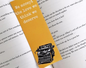 Perks of Being a Wallflower Bookmark