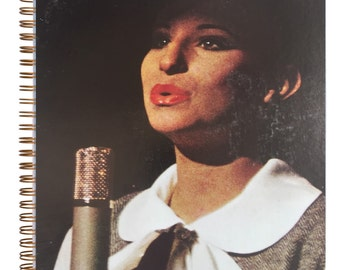 The Barbra Streisand Album Cover Notebook vintage first LP / WOWEEE