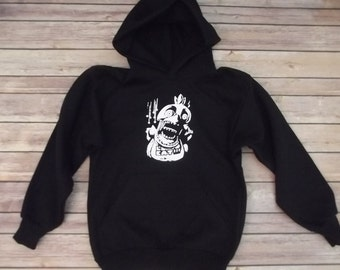Chica FNAF Hoodie Five nights at Freddy's horror All sizes.