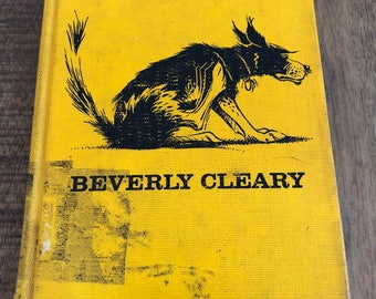 Beverly Cleary Ribsy Hardcover 1964 Edition