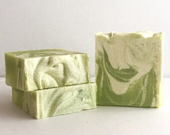 Ginger Lime Soap| Handmade Soap| Vegan Soap| Palm-Free Soap