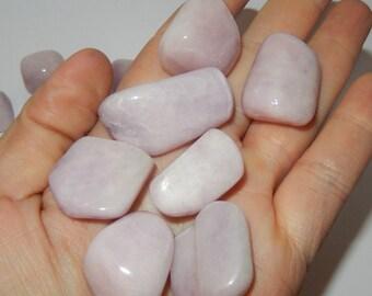 Pink Kunzite- tumbled